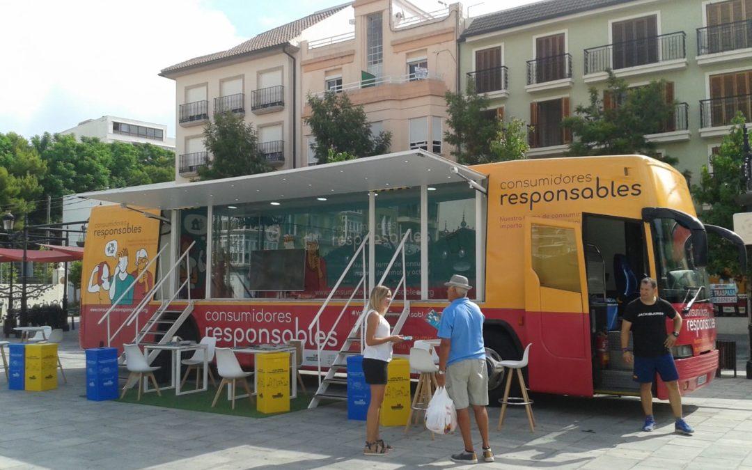 'Consumidores responsables': ASGECO inicia su campaña con un autobús itinerante por Levante