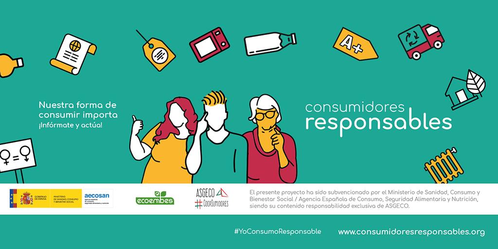 """Según ASGECO: """"Consciente de su papel, los consumidores responsables se informan y actúan en conciencia"""""""