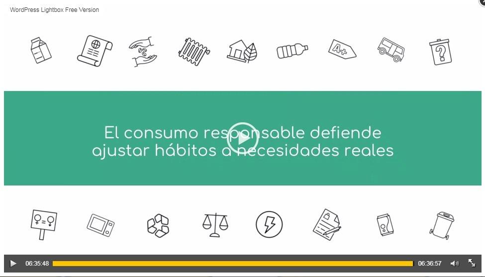 ASGECO te explica en un vídeo como ser un consumidor responsable